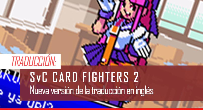 Traduccion al ingles de Card Fighters 2